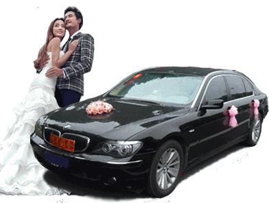宝马7婚车