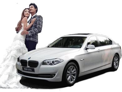 宝马5婚车
