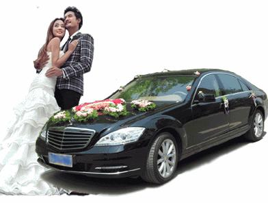 新款奔驰S600婚车
