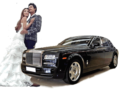 劳斯莱斯幻影婚车