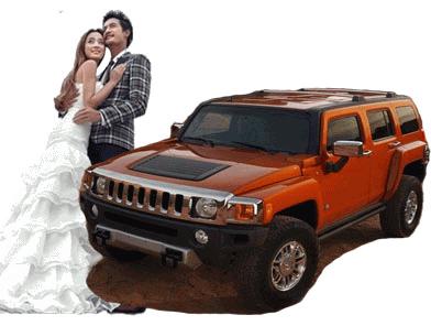 悍马H3婚车