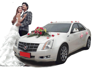 凯迪拉克CTS婚车