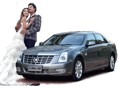 凯迪拉克SLS婚车