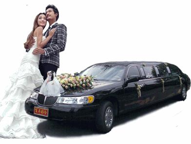 凯迪拉克加长婚车
